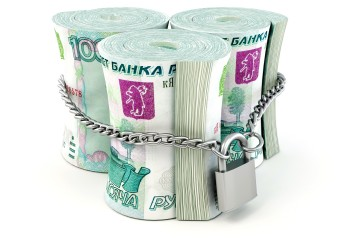 spadki na rublu rosyjskim