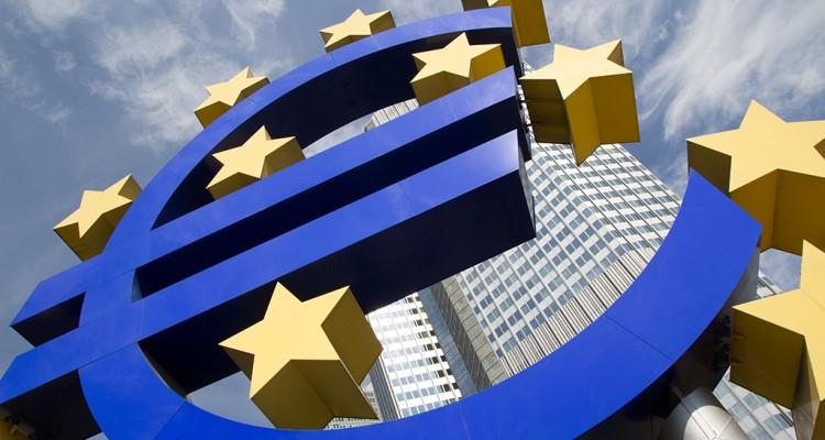 Draghi - spadki euro