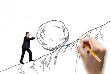 pomysł na biznes - ciężka praca