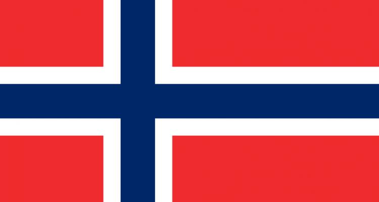 korona norweska - mocne spadki